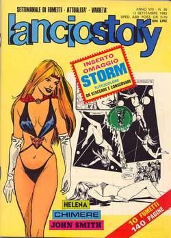 Copertina LANCIOSTORY ANNO 08 n.36 - LANCIOSTORY 1982   36, EDITORIALE AUREA