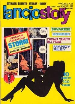 Copertina LANCIOSTORY ANNO 08 n.39 - LANCIOSTORY 1982   39, EDITORIALE AUREA