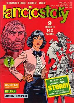 Copertina LANCIOSTORY ANNO 08 n.40 - LANCIOSTORY 1982   40, EDITORIALE AUREA