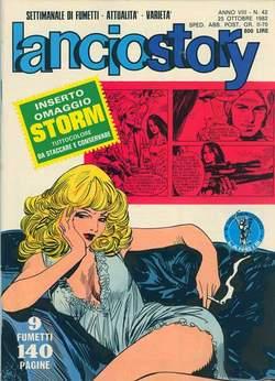 Copertina LANCIOSTORY ANNO 08 n.42 - LANCIOSTORY 1982   42, EDITORIALE AUREA