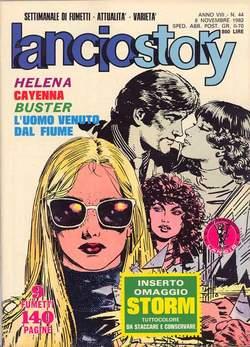 Copertina LANCIOSTORY ANNO 08 n.44 - LANCIOSTORY 1982   44, EDITORIALE AUREA