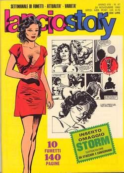 Copertina LANCIOSTORY ANNO 08 n.47 - LANCIOSTORY 1982   47, EDITORIALE AUREA