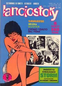 Copertina LANCIOSTORY ANNO 08 n.48 - LANCIOSTORY 1982   48, EDITORIALE AUREA