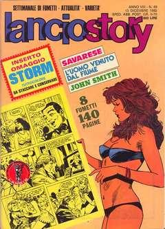 Copertina LANCIOSTORY ANNO 08 n.49 - LANCIOSTORY 1982   49, EDITORIALE AUREA