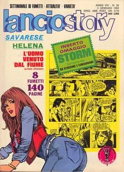 Copertina LANCIOSTORY ANNO 08 n.52 - LANCIOSTORY 1982   52, EDITORIALE AUREA