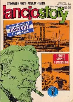 Copertina LANCIOSTORY ANNO 08 n.1 - LANCIOSTORY 1982    1, EDITORIALE AUREA