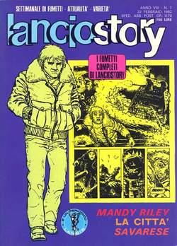 Copertina LANCIOSTORY ANNO 08 n.7 - LANCIOSTORY 1982    7, EDITORIALE AUREA