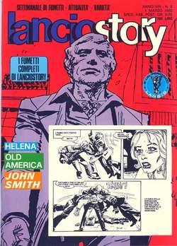 Copertina LANCIOSTORY ANNO 08 n.8 - LANCIOSTORY 1982    8, EDITORIALE AUREA