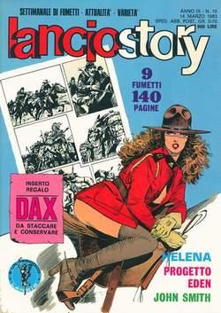 Copertina LANCIOSTORY ANNO 09 n.10 - LANCIOSTORY 1983   10, EDITORIALE AUREA