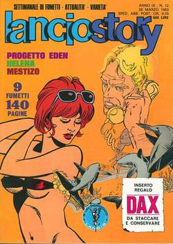 Copertina LANCIOSTORY ANNO 09 n.12 - LANCIOSTORY 1983   12, EDITORIALE AUREA