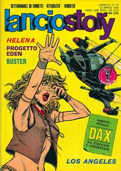 Copertina LANCIOSTORY ANNO 09 n.16 - LANCIOSTORY 1983   16, EDITORIALE AUREA