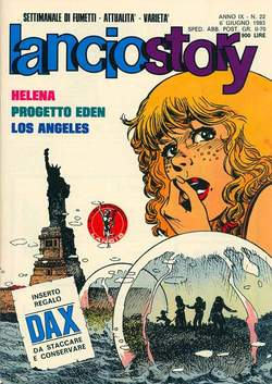 Copertina LANCIOSTORY ANNO 09 n.22 - LANCIOSTORY 1983   22, EDITORIALE AUREA