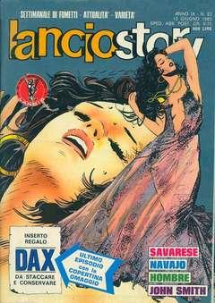 Copertina LANCIOSTORY ANNO 09 n.23 - LANCIOSTORY 1983   23, EDITORIALE AUREA