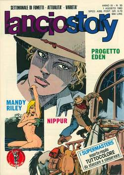 Copertina LANCIOSTORY ANNO 09 n.30 - LANCIOSTORY 1983   30, EDITORIALE AUREA