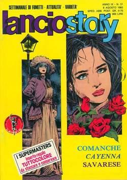 Copertina LANCIOSTORY ANNO 09 n.31 - LANCIOSTORY 1983   31, EDITORIALE AUREA