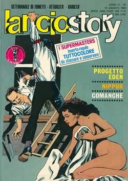 Copertina LANCIOSTORY ANNO 09 n.32 - LANCIOSTORY 1983   32, EDITORIALE AUREA