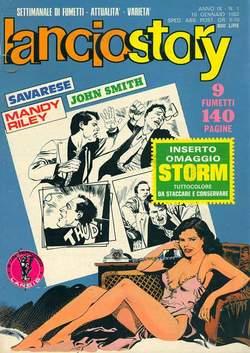 Copertina LANCIOSTORY ANNO 09 n.1 - LANCIOSTORY 1983    1, EDITORIALE AUREA