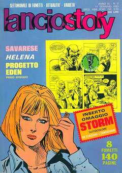 Copertina LANCIOSTORY ANNO 09 n.2 - LANCIOSTORY 1983    2, EDITORIALE AUREA