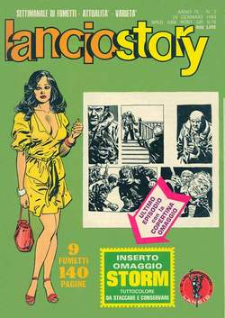 Copertina LANCIOSTORY ANNO 09 n.3 - LANCIOSTORY 1983    3, EDITORIALE AUREA
