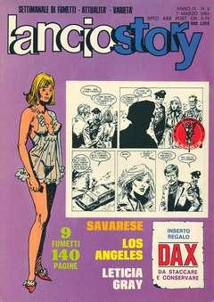 Copertina LANCIOSTORY ANNO 09 n.9 - LANCIOSTORY 1983    9, EDITORIALE AUREA