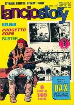Copertina LANCIOSTORY ANNO 09 n.6 - LANCIOSTORY 1983    6, EDITORIALE AUREA