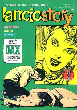 Copertina LANCIOSTORY ANNO 10 n.34 - LANCIOSTORY 1984   34, EDITORIALE AUREA