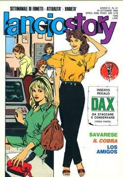 Copertina LANCIOSTORY ANNO 10 n.41 - LANCIOSTORY 1984   41, EDITORIALE AUREA