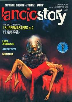 Copertina LANCIOSTORY ANNO 10 n.44 - LANCIOSTORY 1984   44, EDITORIALE AUREA