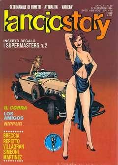 Copertina LANCIOSTORY ANNO 10 n.50 - LANCIOSTORY 1984   50, EDITORIALE AUREA