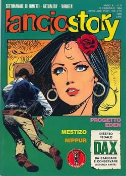 Copertina LANCIOSTORY ANNO 10 n.6 - LANCIOSTORY 1984    6, EDITORIALE AUREA