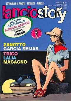Copertina LANCIOSTORY ANNO 11 n.10 - LANCIOSTORY 1985   10, EDITORIALE AUREA