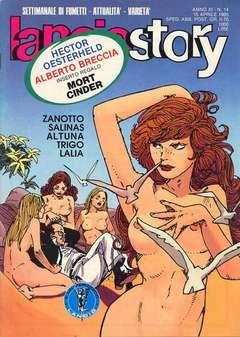 Copertina LANCIOSTORY ANNO 11 n.14 - LANCIOSTORY 1985   14, EDITORIALE AUREA