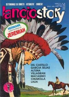 Copertina LANCIOSTORY ANNO 11 n.25 - LANCIOSTORY 1985   25, EDITORIALE AUREA