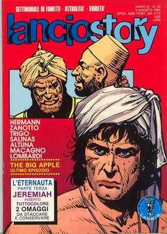 Copertina LANCIOSTORY ANNO 11 n.30 - LANCIOSTORY 1985   30, EDITORIALE AUREA