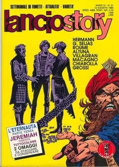 Copertina LANCIOSTORY ANNO 11 n.31 - LANCIOSTORY 1985   31, EDITORIALE AUREA