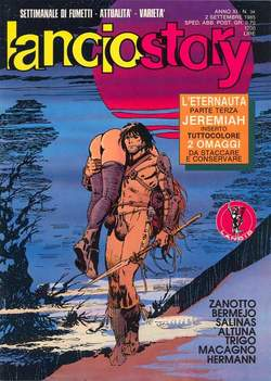 Copertina LANCIOSTORY ANNO 11 n.34 - LANCIOSTORY 1985   34, EDITORIALE AUREA