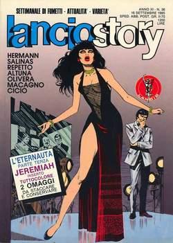 Copertina LANCIOSTORY ANNO 11 n.36 - LANCIOSTORY 1985   36, EDITORIALE AUREA