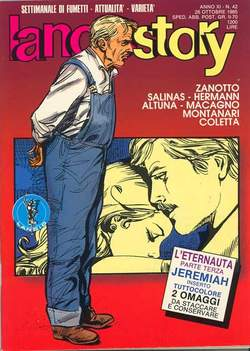Copertina LANCIOSTORY ANNO 11 n.42 - LANCIOSTORY 1985   42, EDITORIALE AUREA