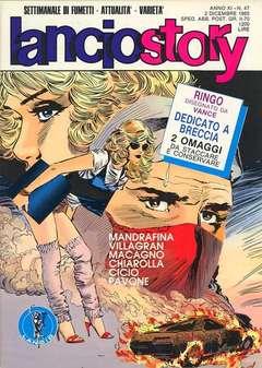 Copertina LANCIOSTORY ANNO 11 n.47 - LANCIOSTORY 1985   47, EDITORIALE AUREA