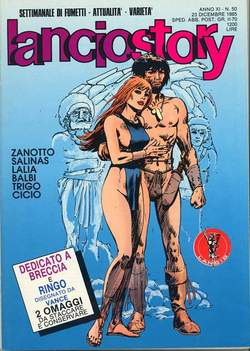 Copertina LANCIOSTORY ANNO 11 n.50 - LANCIOSTORY 1985   50, EDITORIALE AUREA