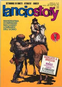 Copertina LANCIOSTORY ANNO 11 n.51 - LANCIOSTORY 1985   51, EDITORIALE AUREA