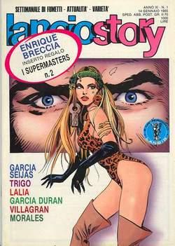 Copertina LANCIOSTORY ANNO 11 n.1 - LANCIOSTORY 1985    1, EDITORIALE AUREA