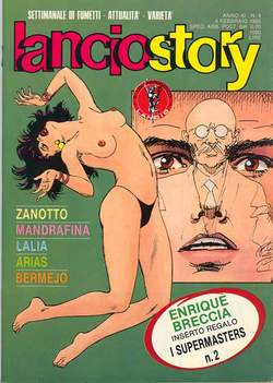 Copertina LANCIOSTORY ANNO 11 n.4 - LANCIOSTORY 1985    4, EDITORIALE AUREA