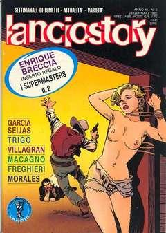 Copertina LANCIOSTORY ANNO 11 n.3 - LANCIOSTORY 1985    3, EDITORIALE AUREA