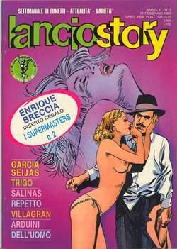 Copertina LANCIOSTORY ANNO 11 n.5 - LANCIOSTORY 1985    5, EDITORIALE AUREA