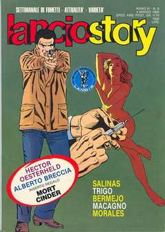 Copertina LANCIOSTORY ANNO 11 n.8 - LANCIOSTORY 1985    8, EDITORIALE AUREA