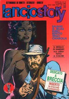Copertina LANCIOSTORY ANNO 12 n.12 - LANCIOSTORY 1986   12, EDITORIALE AUREA