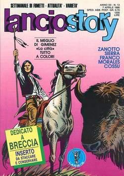 Copertina LANCIOSTORY ANNO 12 n.13 - LANCIOSTORY 1986   13, EDITORIALE AUREA
