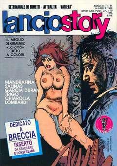 Copertina LANCIOSTORY ANNO 12 n.14 - LANCIOSTORY 1986   14, EDITORIALE AUREA