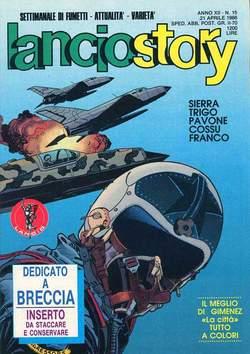 Copertina LANCIOSTORY ANNO 12 n.15 - LANCIOSTORY 1986   15, EDITORIALE AUREA